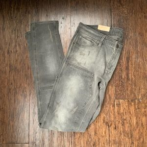 RL Denim and Supply Grey Skinny Jean